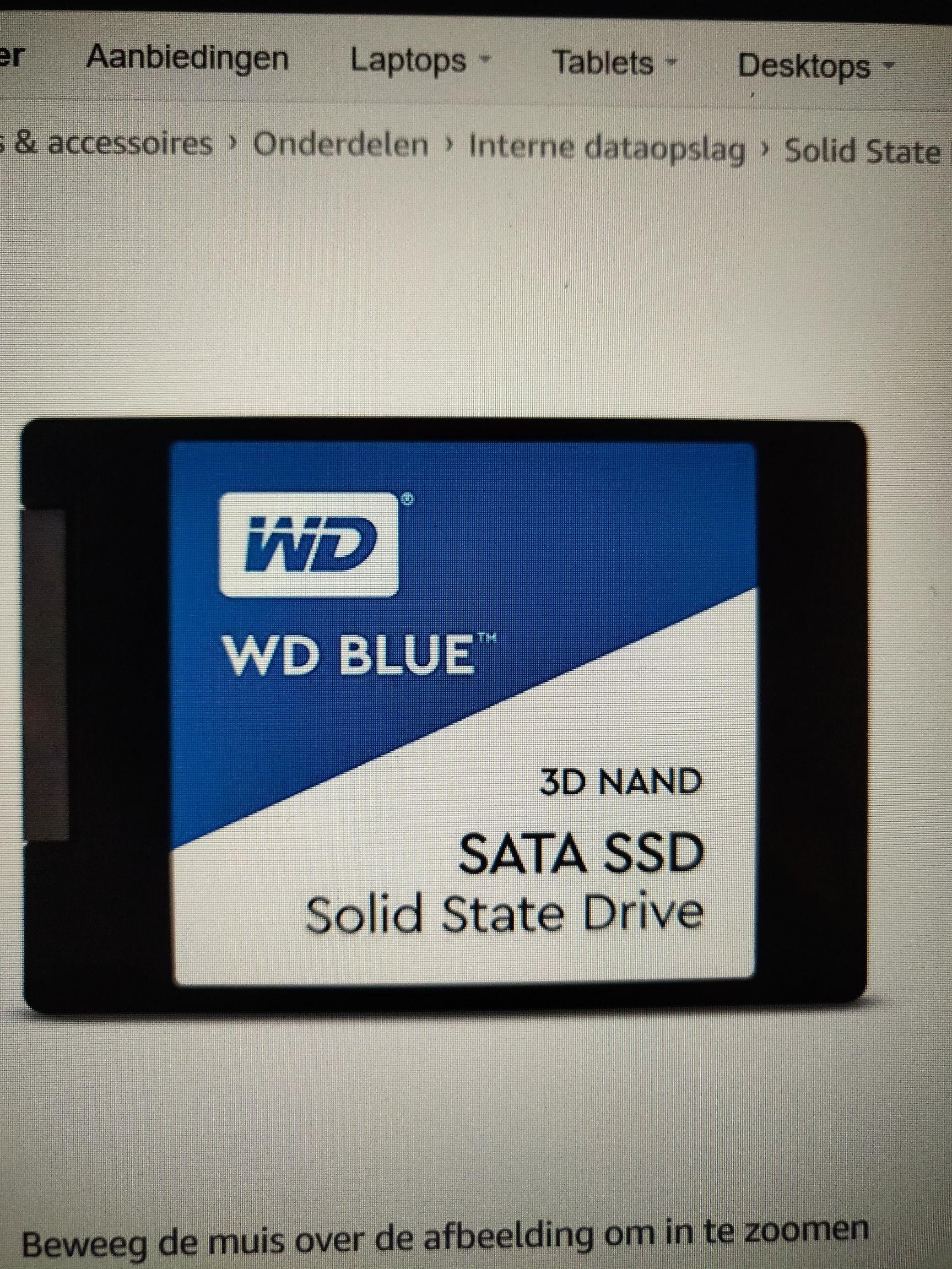 WD Blue 3D Nand 1TB SSD