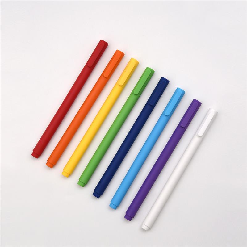 XIAOMI Colorful Gel Pens (hervulbaar) 8pcs €3.52 ipv €8.82