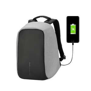 OIWAS Anti-theft backpack 14inch Fashion Casual Laptop School Bag with USB Charging Port 14.8L