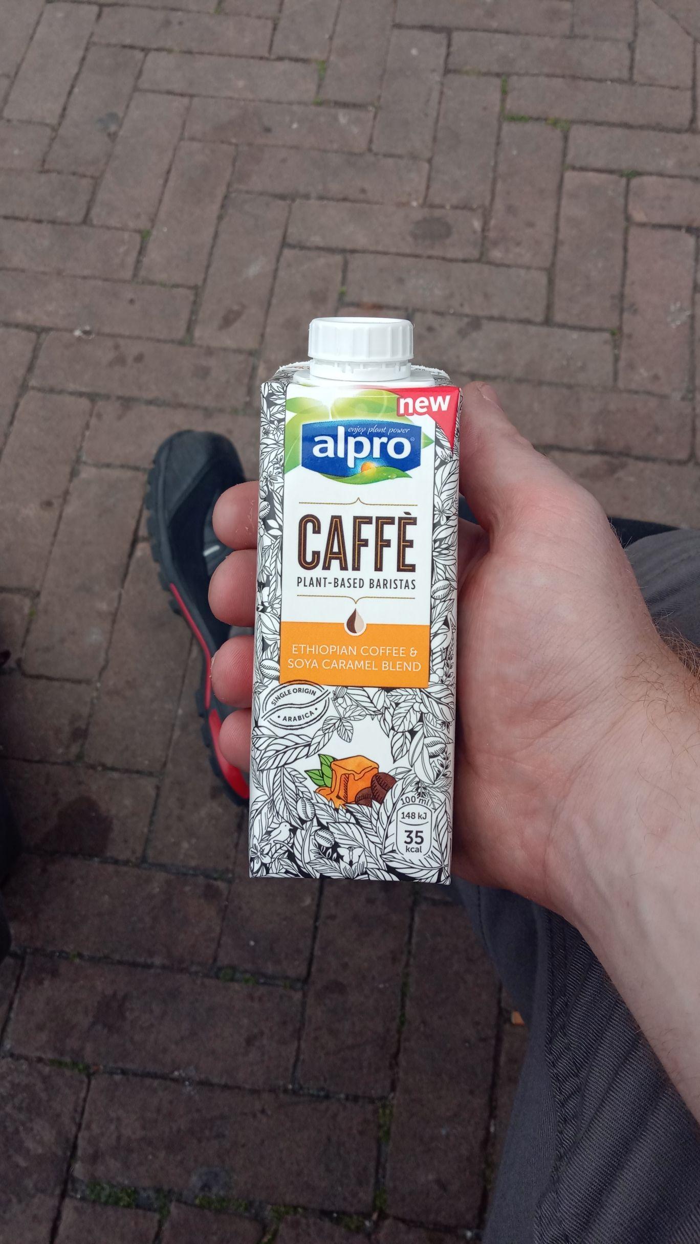 Alpro caffè met caramel (lokaal ah) gratis