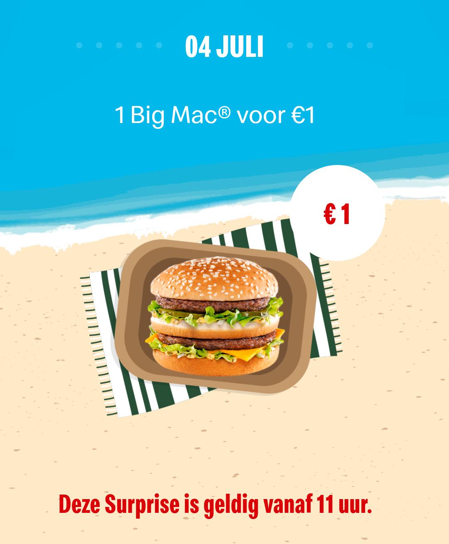[Grensdeal België] Big Mac voor €1