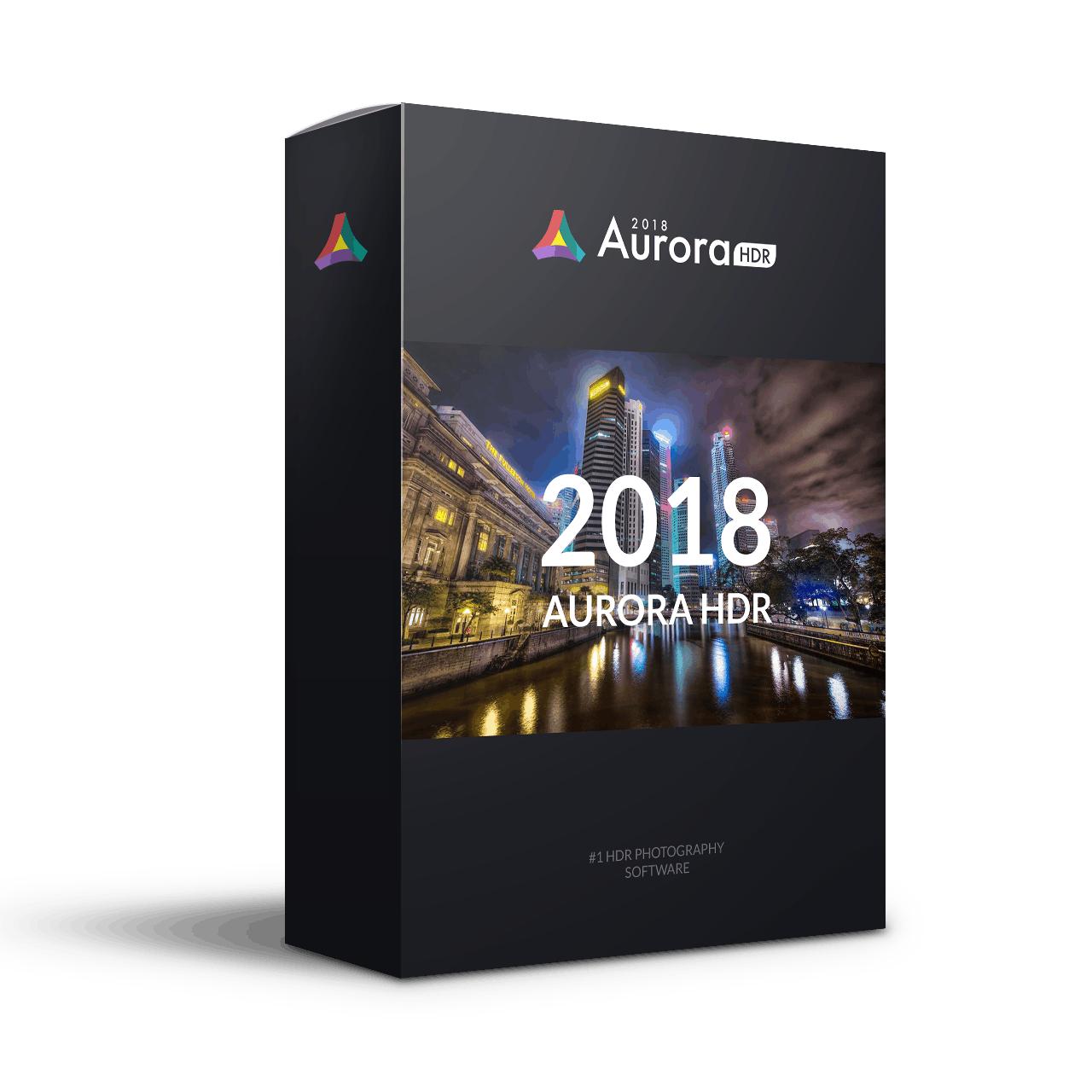 Aurora HDR 2018 voor Mac OS Gratis
