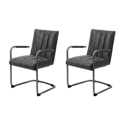 Set van 2 MOOS stoelen 'Medine' -63% @ fonQ