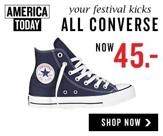Converse All Stars voor maar €45 bij America Today