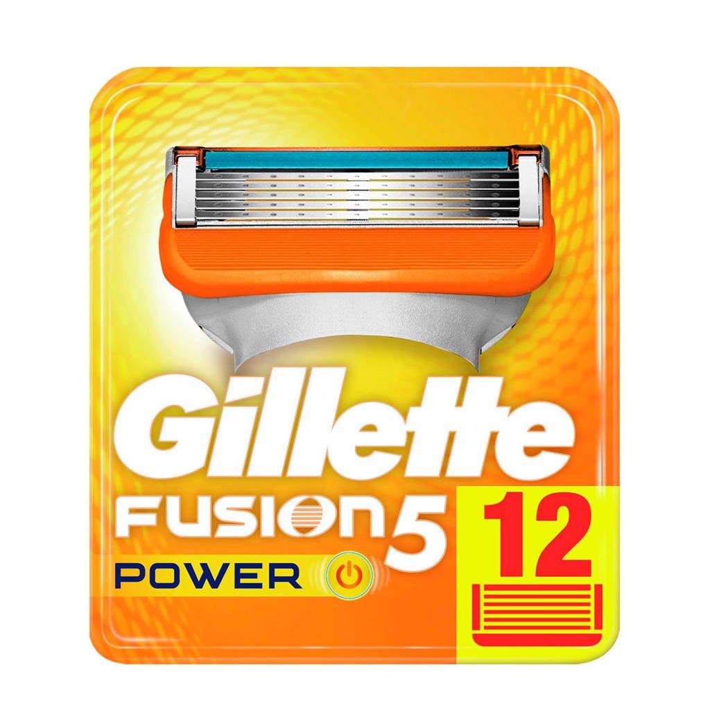 Gillette Fusion5 Power scheermesjes - 12 stuks @ Wehkamp