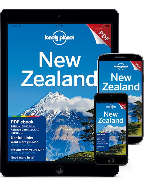 Gratis eBook Nieuw-Zeeland (Lonely Planet reisgids)