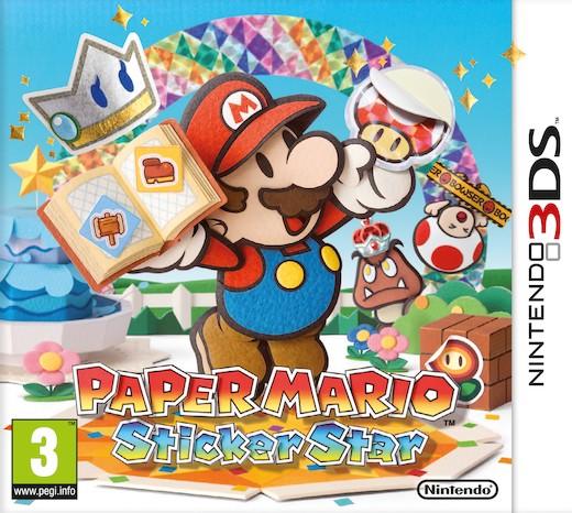 Paper Mario: Sticker Star (3DS) voor €22 @ Nedgame
