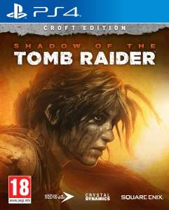 PS4 Shadow of the Tomb Raider Croft Edition voor 29,98 @ Intertoys