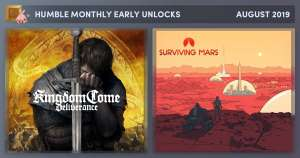 Humble Monthly Bundle - Kingdom Come: Deliverance en Surviving Mars