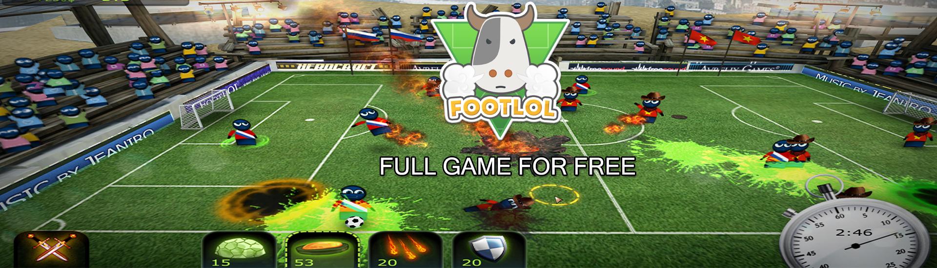 Gratis FootLOL: Epic Fail League @Indiegala