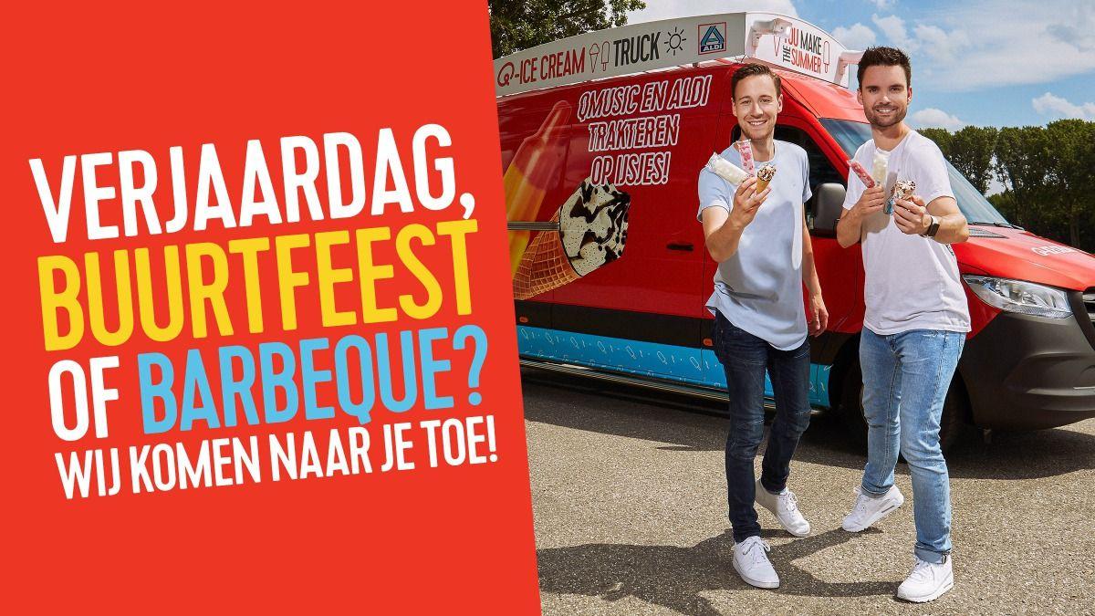 Gratis Aldi-ijsjes in Amsterdam, Zwolle, Tilburg, Utrecht & Rotterdam [locaties]