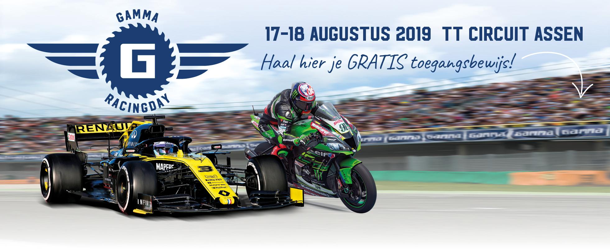 Gratis tickets Gamma racingdays TT circuit Assen @ Gamma