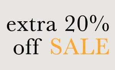 Met code 20% EXTRA korting op SALE (tot -50%) @ We Are Labels
