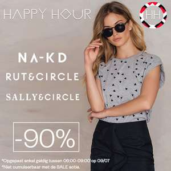 Di 6-10u -90%: NA-KD, Rut&Circle, Sally&Circle @ Maison Lab
