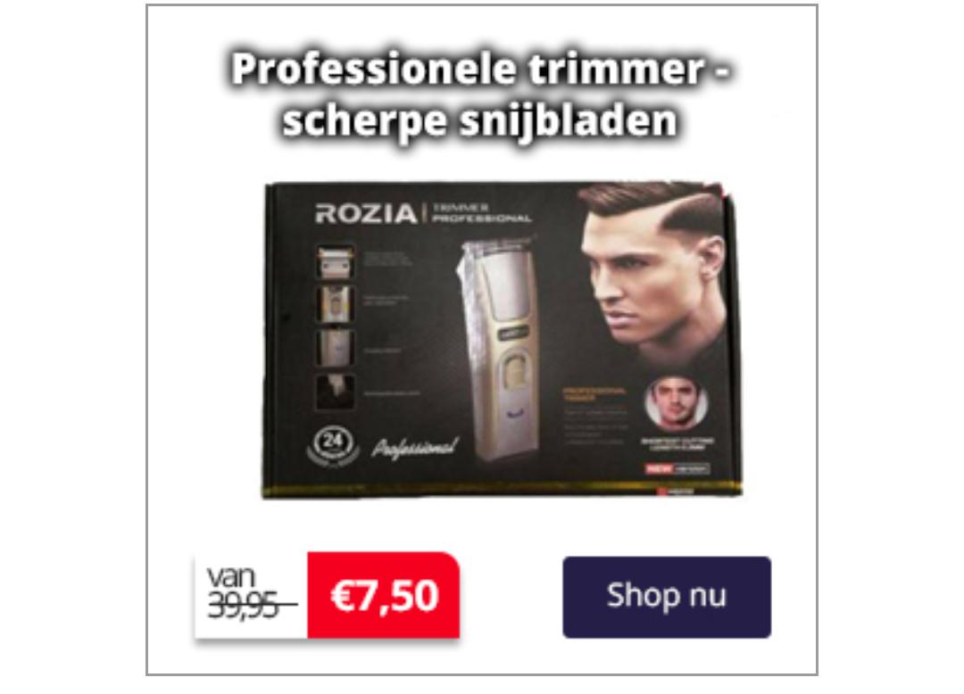 Sale verzorging producten Neckermann
