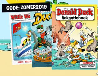 Donald Duck vakantieboeken, 3 halen = 2 betalen @ Duckstadshop.nl