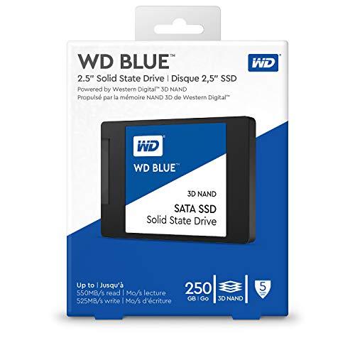 """WD Blue 2,5"""" (3D v-nand (TLC)) 250GB SSD"""