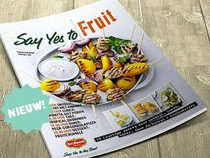 Gratis Say Yes to Fruit magazine