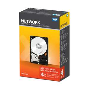 "WD Red NAS 4TB Retail 3.5"" harde schijf (Amazon.es)"