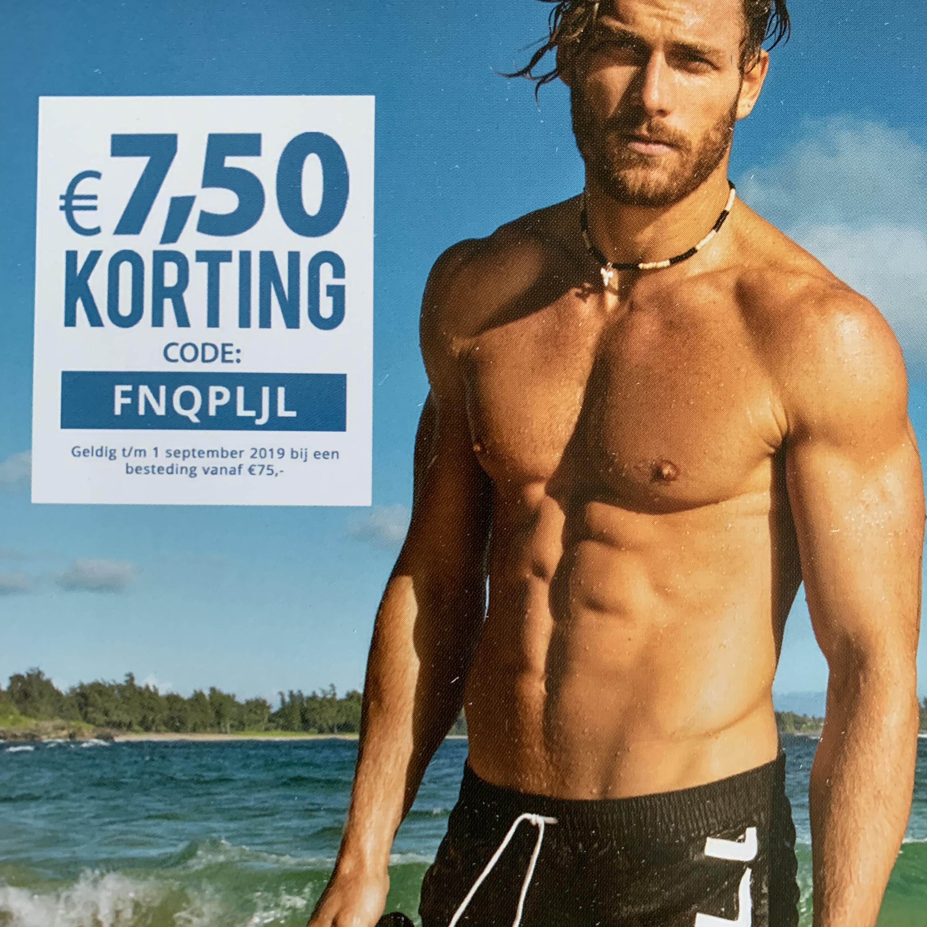 Plutosport: €7,50 korting vanaf €75,-
