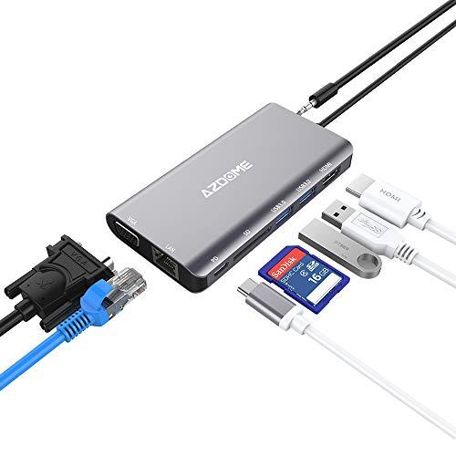 Azdome USB C Hub met 8 poorten bij Amazon.de voor €17,99