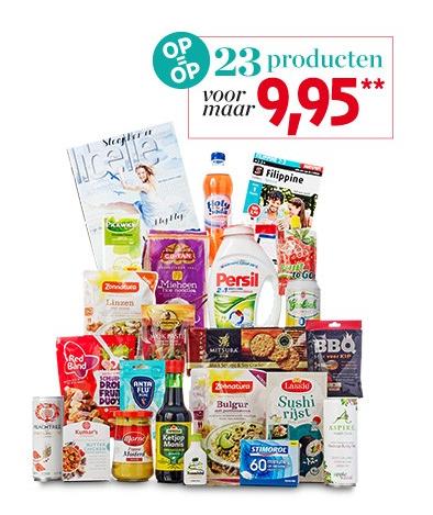 Zomers Boodschappenpakket voor €14,90 @ Veronica Magazine
