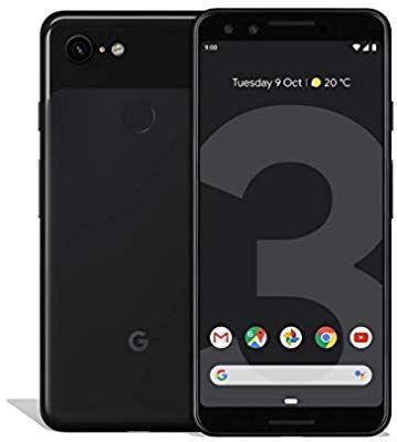 Google Pixel 3 64GB Zwart voor €529 bij Amazon.de