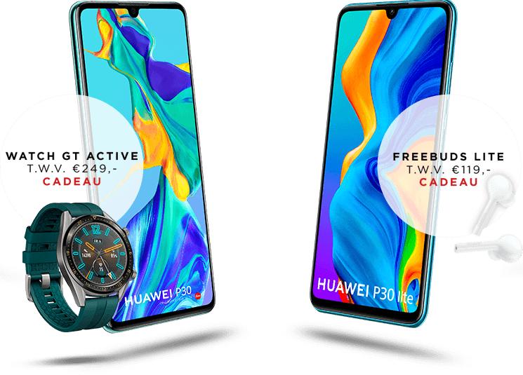 Gratis Huawei Freebuds Lite of Watch GT