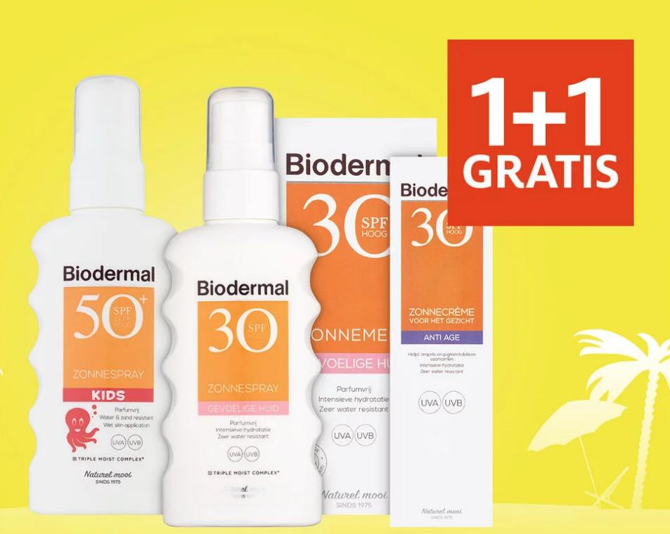 Alle Biodermal 1+1 gratis