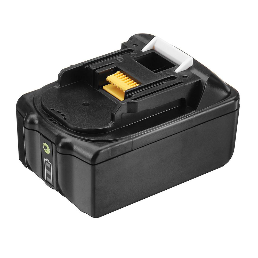 MAK-18B-Li 18V Li-Ion 5.0Ah / 6.0Ah Battery Power Tool Batterij Voor Makita BL1850 BL1860 - 6.0Ah
