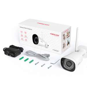Foscam fi9902p ip camera met WiFi