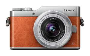 Panasonic Lumix DC-GX800 systeemcamera Oranje + 12-32mm @Amazon.co.uk