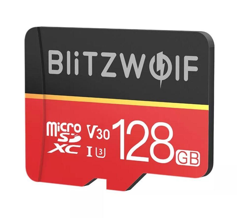 BlitzWolf BW-TF1 Class 10 UHS-3 Micro-SD kaart 128GB