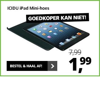 ICIDU iPad Mini Back Cover voor €1,99 @ Dixons en iCentre