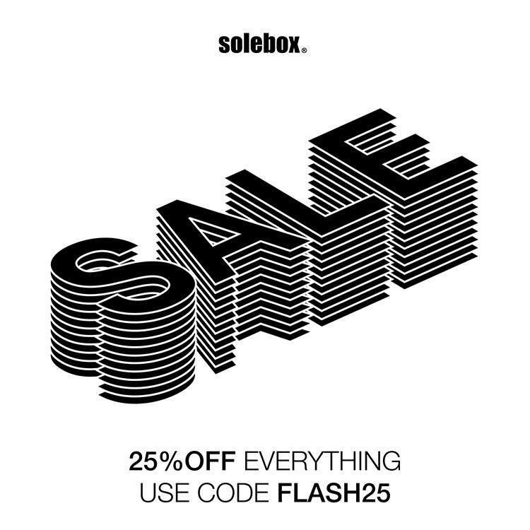 -25% op alles bij solebox