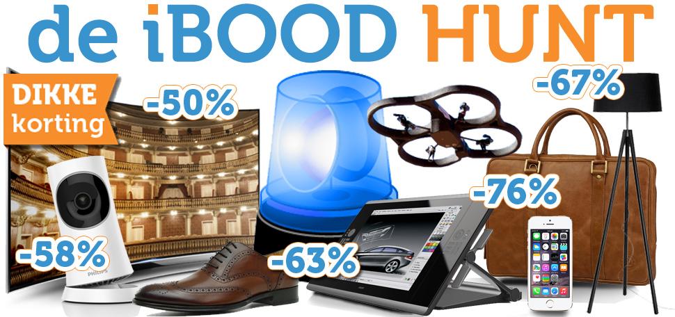 [REMINDER] iBOOD Hunt op woensdag 26 & donderdag 27 augustus @ iBOOD