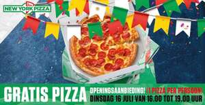 [LOKAAL] Gratis pizza @ New York Pizza Maastricht