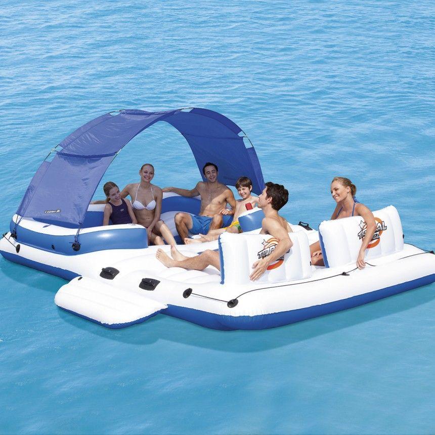 Bestway® Coolerz Luxery Tropical Breeze eiland voor €109 (elders v.a. €219) @Lidl