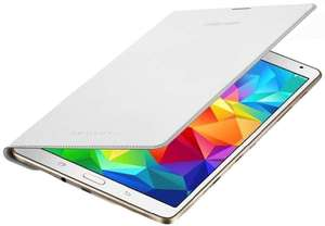 """Samsung Simple Cover White (Galaxy Tab S 8.4"""") voor €9,99 @ Media Markt"""