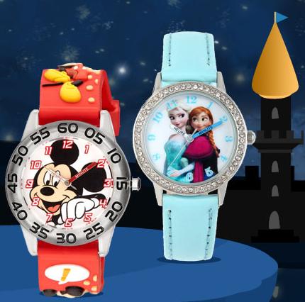 FROZEN horloges en meer van Disney vanaf €7,70 - tot 76% korting @Showroomprivé (+€4,40 verzending)