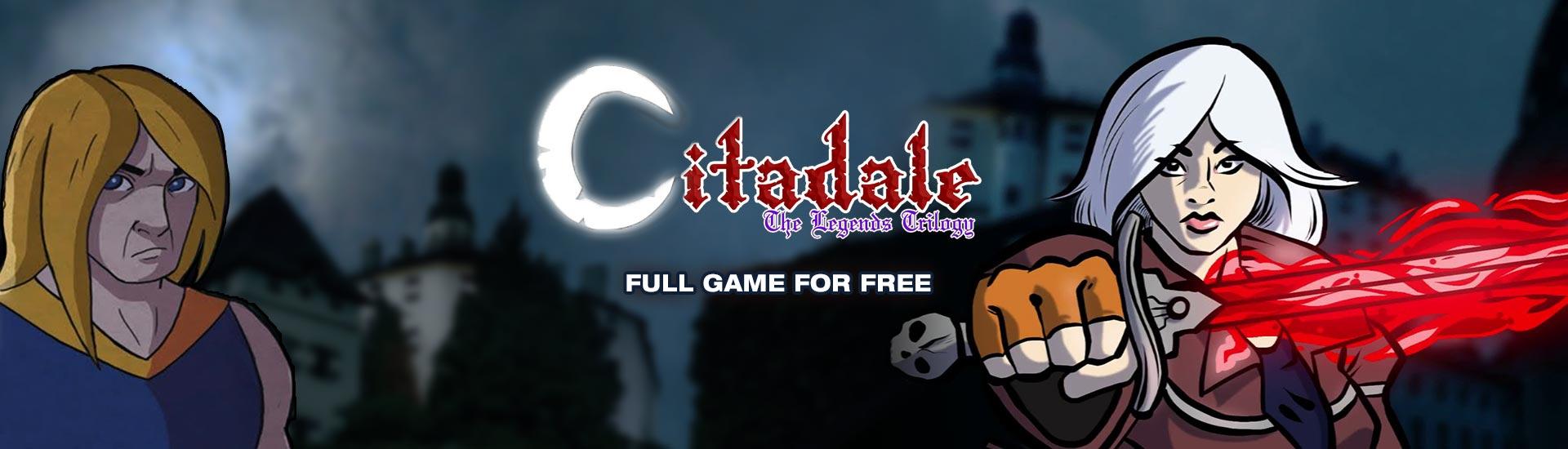 Gratis game Citadale: The Legends Trilogy @Indiegala
