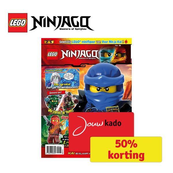 Jaarabonnement Lego Ninjago magazine (€16,75 en 100 punten) @Kruidvat