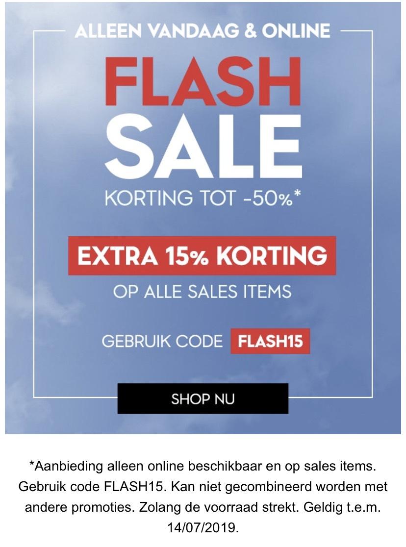 Kipling 15% extra korting op sale met code