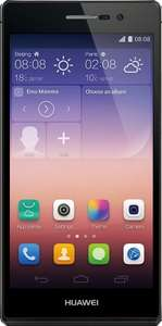 Huawei Ascend P7 i.c.m. BEN 100 min/sms (1 maand) voor €196,45 @ Coolblue