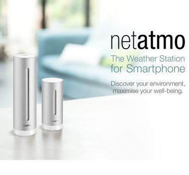 Netatmo Weerstation (prime only)