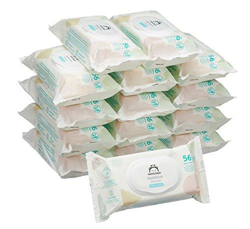Mama Bear Baby wipes 15 pakken (840 doekjes) (prime)