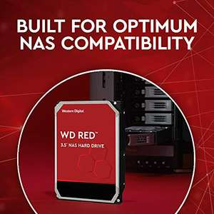 WD Red 8TB HDD (256mb cache)