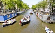 4 uur varen, tot 12 personen (Haarlem, A'dam, Leiden, Utrecht) voor €99 @ Groupon