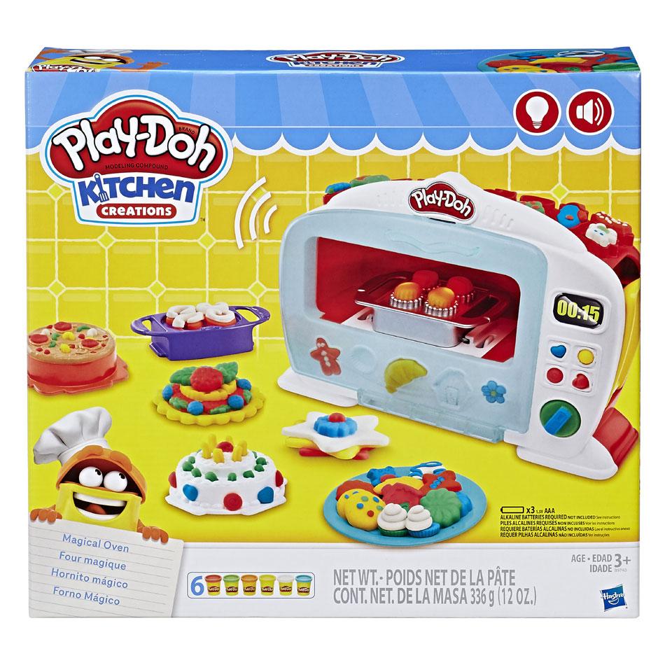 Play-Doh Kitchen Creations Magische Oven voor 17.49 & onderdeel 1+1 gratis actie @ Intertoys