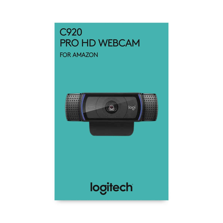 Logitech C920 Pro HD Webcam (Prime)